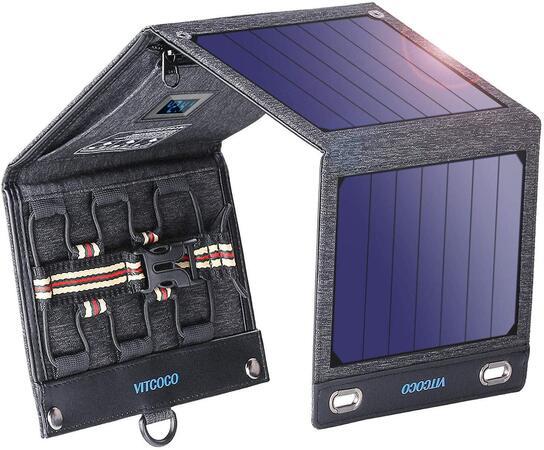 Cargador solar portátil Vitcoco