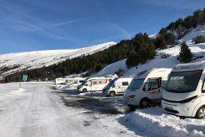 Viajando en autocaravana por Andorra invierno