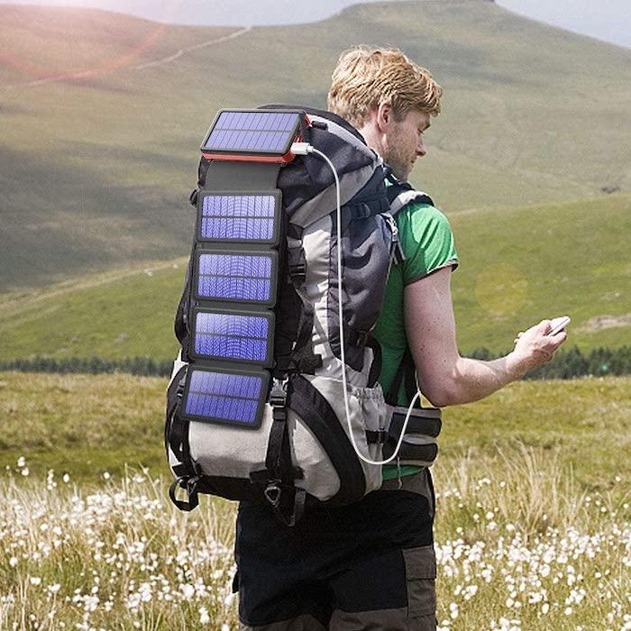 Cargador solar portátil Blavor