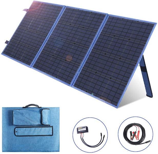 Cargador solar portátil Saronic
