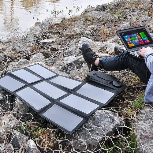 Cargador solar portatil Allpowers 60w