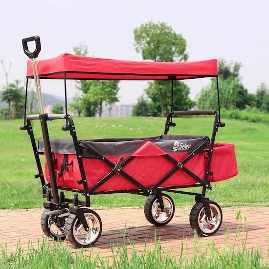 mejor carro de playa para niños