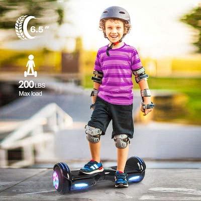 patiente electrico hoverboard niño