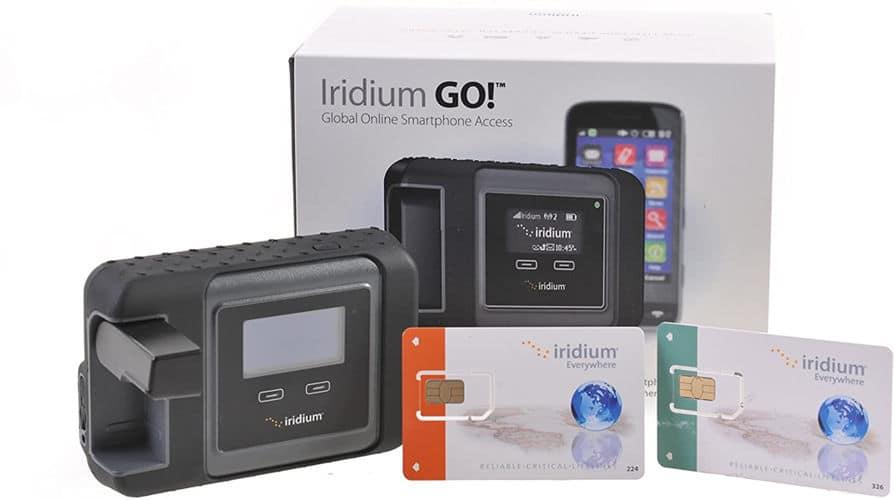 Mejores teléfonos satélites Iridium GO!