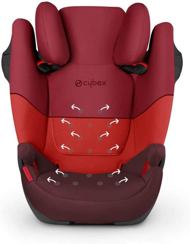 Mejores sillas de coche - mejor calidad-precio Cybex Silver Solution M-fix
